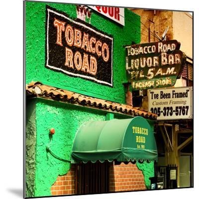 The Tobacco Road - Miami's Oldest Bar - Florida - USA-Philippe Hugonnard-Mounted Photographic Print