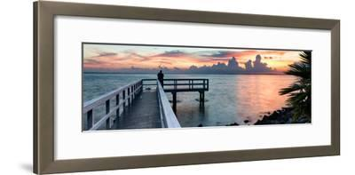 Pier at Sunset-Philippe Hugonnard-Framed Photographic Print