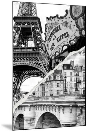 Dual Torn Posters Series - Paris - France-Philippe Hugonnard-Mounted Photographic Print