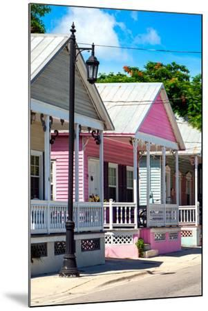 Key West Architecture - The Pink House - Florida-Philippe Hugonnard-Mounted Photographic Print