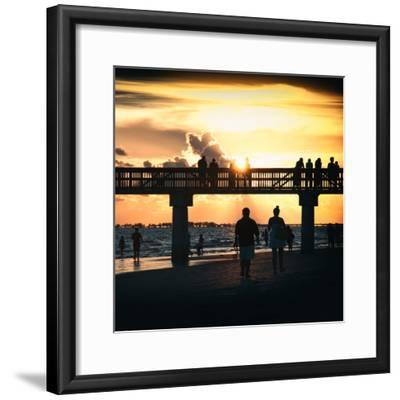 End of Beach Day-Philippe Hugonnard-Framed Photographic Print
