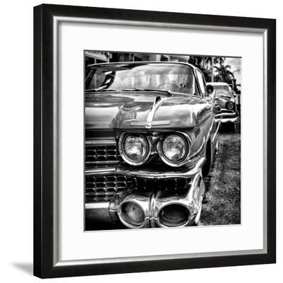 Classic Cars of Miami Beach-Philippe Hugonnard-Framed Photographic Print