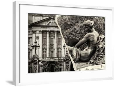 Dual Torn Posters Series - London-Philippe Hugonnard-Framed Photographic Print