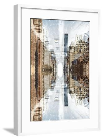 New York City Reflections Series-Philippe Hugonnard-Framed Photographic Print