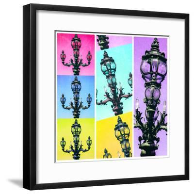 Paris Focus - Paris Pop Art-Philippe Hugonnard-Framed Photographic Print