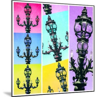 Paris Focus - Paris Pop Art-Philippe Hugonnard-Mounted Photographic Print
