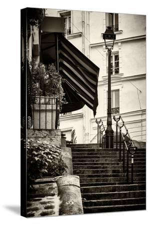 Paris Focus - Montmartre-Philippe Hugonnard-Stretched Canvas Print