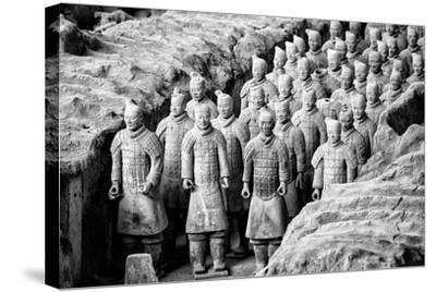 China 10MKm2 Collection - Terracotta Warriors-Philippe Hugonnard-Stretched Canvas Print