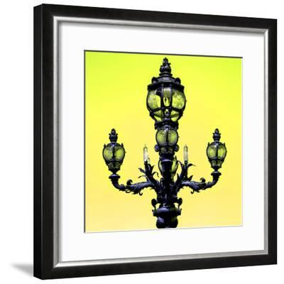 Paris Focus - Colors French Lamppost-Philippe Hugonnard-Framed Photographic Print