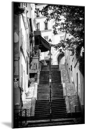 Paris Focus - Montmartre-Philippe Hugonnard-Mounted Photographic Print