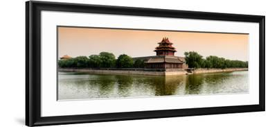 China 10MKm2 Collection - Watchtower - Forbidden City - Beijing-Philippe Hugonnard-Framed Photographic Print
