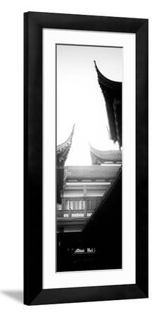 China 10MKm2 Collection - Traditional Architecture in Yuyuan Garden - Shanghai-Philippe Hugonnard-Framed Photographic Print
