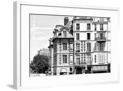 Paris Focus - French Architecture-Philippe Hugonnard-Framed Photographic Print