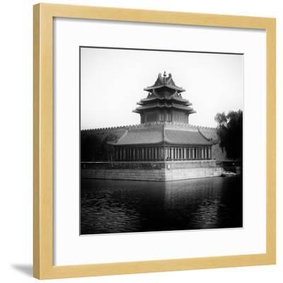 China 10MKm2 Collection - Watchtower - Forbidden City-Philippe Hugonnard-Framed Photographic Print