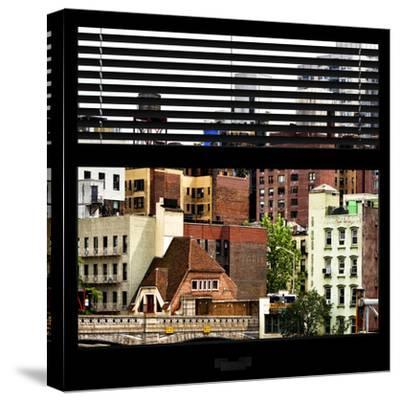 View from the Window - New York Architecture-Philippe Hugonnard-Stretched Canvas Print