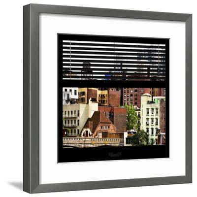 View from the Window - New York Architecture-Philippe Hugonnard-Framed Photographic Print