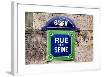 Paris Focus - Rue de Seine-Philippe Hugonnard-Framed Photographic Print