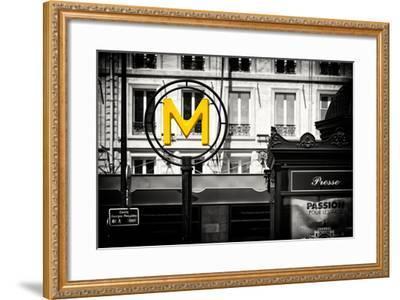 Paris Focus - Paris Métro-Philippe Hugonnard-Framed Photographic Print