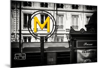 Paris Focus - Paris Métro-Philippe Hugonnard-Mounted Photographic Print