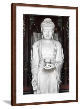 China 10MKm2 Collection - White Buddha-Philippe Hugonnard-Framed Photographic Print