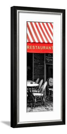 Paris Focus - French Restaurant-Philippe Hugonnard-Framed Photographic Print