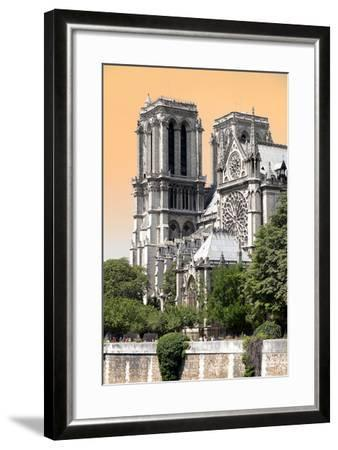 Paris Focus - Notre Dame Cathedral-Philippe Hugonnard-Framed Photographic Print