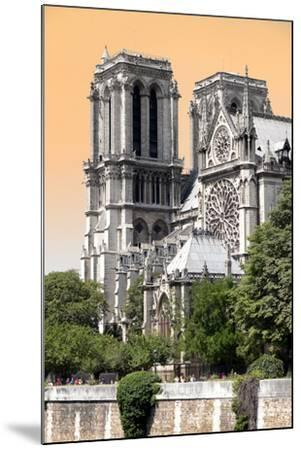 Paris Focus - Notre Dame Cathedral-Philippe Hugonnard-Mounted Photographic Print