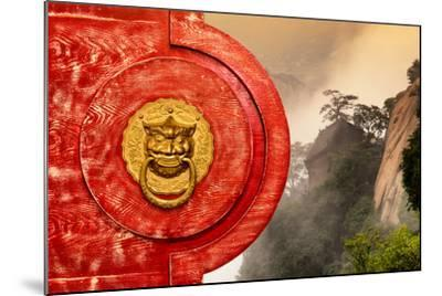 China 10MKm2 Collection - The Door God - Mount Huashan-Philippe Hugonnard-Mounted Photographic Print