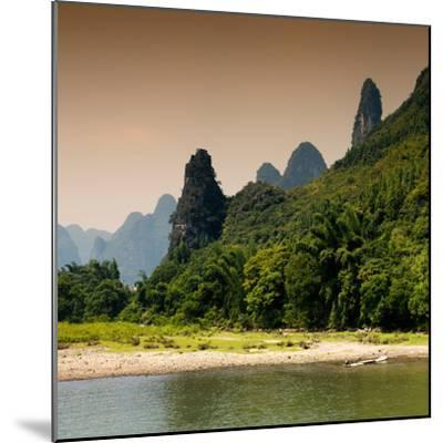China 10MKm2 Collection - Yangshuo Li River-Philippe Hugonnard-Mounted Photographic Print