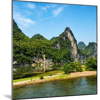 China 10MKm2 Collection - Yangshuo Li River-Philippe Hugonnard-Mounted Photographic Print