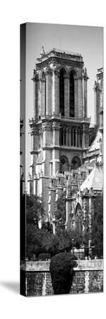 Paris Focus - Notre Dame Cathedral-Philippe Hugonnard-Stretched Canvas Print