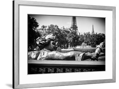 Paris Focus - Liberty Bridge-Philippe Hugonnard-Framed Photographic Print