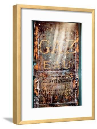 Paris Focus - Old Door 19th-Philippe Hugonnard-Framed Photographic Print