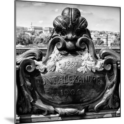 Paris Focus - Pont Alexandre III-Philippe Hugonnard-Mounted Photographic Print