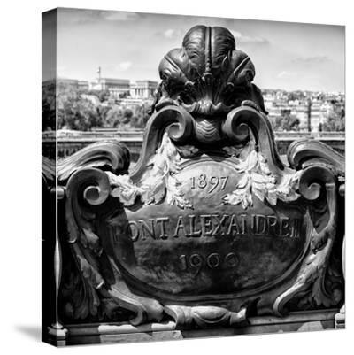 Paris Focus - Pont Alexandre III-Philippe Hugonnard-Stretched Canvas Print