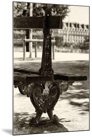 Paris Focus - Public Bench-Philippe Hugonnard-Mounted Photographic Print