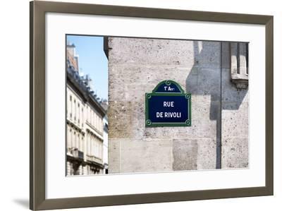Paris Focus - Rue de Rivoli-Philippe Hugonnard-Framed Photographic Print