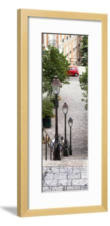 Paris Focus - Stairs of Montmartre-Philippe Hugonnard-Framed Photographic Print