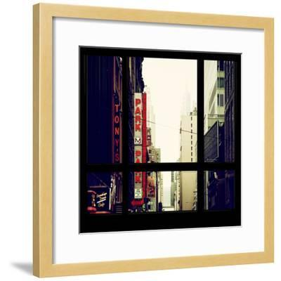 View from the Window - NYC Park-Philippe Hugonnard-Framed Photographic Print
