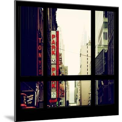View from the Window - NYC Park-Philippe Hugonnard-Mounted Photographic Print