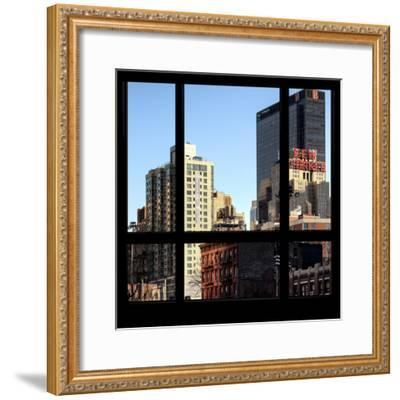 View from the Window - NYC Architecture-Philippe Hugonnard-Framed Photographic Print