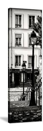 Paris Focus - Steps to Montmartre-Philippe Hugonnard-Stretched Canvas Print