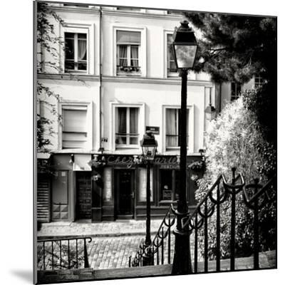 Paris Focus - Steps to Montmartre-Philippe Hugonnard-Mounted Photographic Print