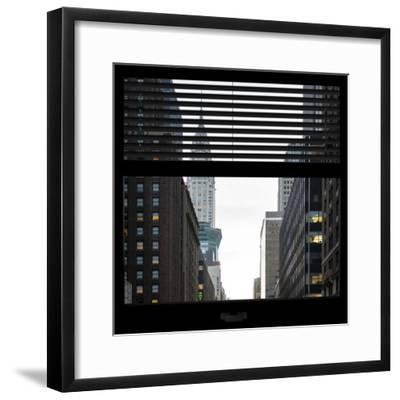 View from the Window - Empire State Building-Philippe Hugonnard-Framed Photographic Print