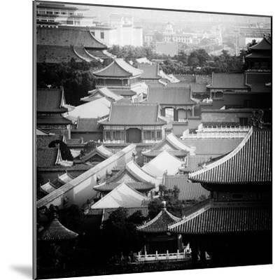 China 10MKm2 Collection - View of the roofs of Forbidden City-Philippe Hugonnard-Mounted Photographic Print