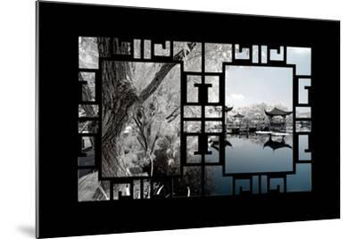 China 10MKm2 Collection - Asian Window - Another Look Series - Blue Lagoon-Philippe Hugonnard-Mounted Photographic Print