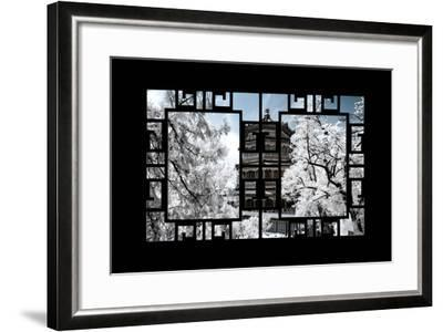 China 10MKm2 Collection - Asian Window - Another Look Series - Summer Palace-Philippe Hugonnard-Framed Photographic Print