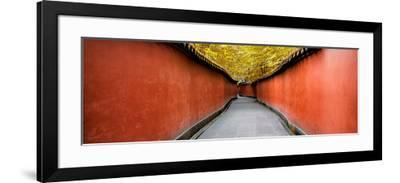 China 10MKm2 Collection - Alley Bamboo-Philippe Hugonnard-Framed Photographic Print