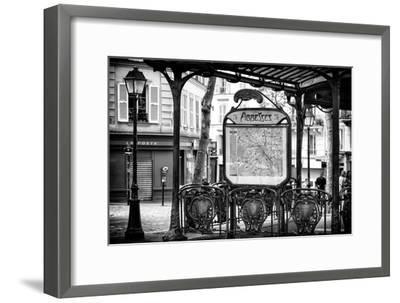 Paris Focus - Metro Abbesses-Philippe Hugonnard-Framed Photographic Print