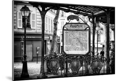 Paris Focus - Metro Abbesses-Philippe Hugonnard-Mounted Photographic Print